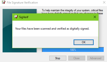 verify Installed Unsigned Drivers In Windows 10