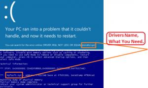 what is a blue screen of death bsod error in windows 10