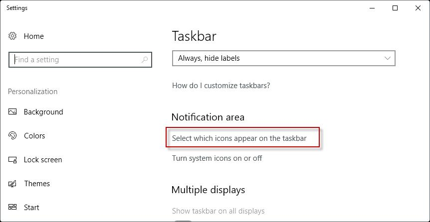 how to fix taskbar not hiding in full screen in windows 10