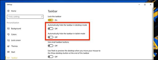what to do when the windows taskbar won't auto-hide