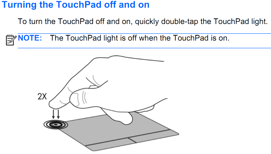 how to fix your laptop's touchpad not working